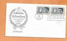 MEMORIAM JOHN KENNEDY MAY 29,1964 BOSTON MASS VINTAGE COVER