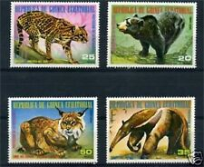 LOT DE TIMBRES NEUFS XX ANIMAUX SAUVAGES - GUINEE - TB