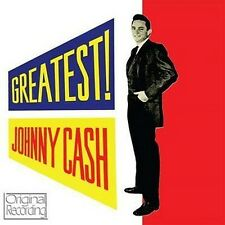 CD JOHNNY CASH GREATEST GOODBYE LITTLE DARLIN' YOU TELL ME GET RHYTHM KATY TOO