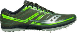 Saucony Kilkenny XC 7 Cross Country Running Spikes - Green