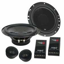 "Cerwin-Vega XEDL765C 550 Watt 6.5"" inch XED Elite 2-Way Component Car Speakers"