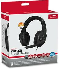 SPEEDLINK VERSICO Stereo Headset, Grey-Black