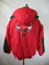 E9122 VTG 90s STARTER Chicago Bulls NBA Basketball Jacket Size XL
