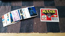 VINTAGE 1987 M.A.S.K DIAMOND STICKERS - LOT 5 FOR $1.25 - COMPLETE YOUR ALBUM !!