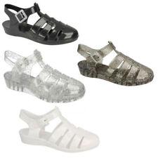 Markenlose Damen-Sandalen & -Badeschuhe mit Keilabsatz für die Freizeit