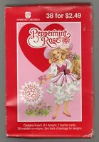 Vintage Peppermint Rose Valentine's Day Cards 1993 American Greetings 38 Count