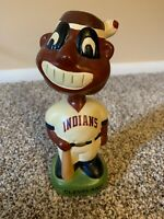 1990 VINTAGE CLEVELAND INDIANS CHIEF WAHOO BOBBLEHEAD BOBBLE HEAD