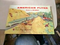 AMERICAN FLYER 1957 CATALOG HAS 1957 WRITTEN ON COVER OTHERWISE EXCELLENT CONDIT