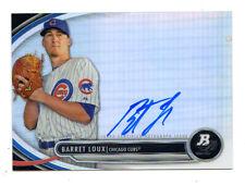 BARET LOUX MLB 2013 BOWMAN PLATINUM PROSPECT AUTOGRAPHS (CHICAGO CUBS)