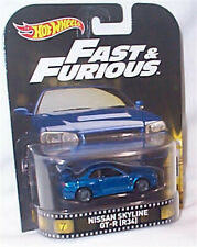 Nissan Skyline GT-R R34 Fast & Furious 1-64 scale new in packet Hot wheels DWJ88