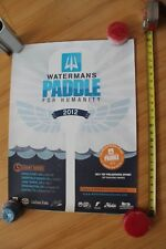 Watermans Paddle for Humanity 2012 Dana Point Ca Sup Surfing 18x24in. Poster
