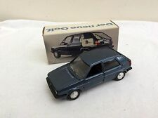 SCHABAK 1/43 VW  Golf   - dark blue   BOXED  (dealers issue)