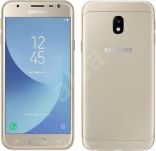 NUOVO Samsung Galaxy J3 2017 SM-J330F 16 GB Sbloccato ORO 4 G LTE 13MP UK STOCK
