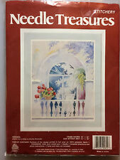 Stitchery Needle Treasures VERANDA Crewel Embroidery Kit - NEW