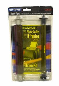 COMBO-Olympus P-400 Ribbon Kit (200655) Print 50 Sheets. New In Box!