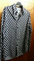 MOSCHINO MEN SIZE S STAR PRINT  SHIRT  EXCELLENT CONDITION