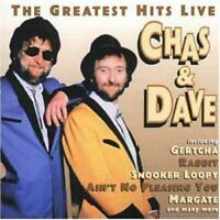 CHAS & DAVE the greatest hits live (CD, Album) Pop, Novelty, very good condition
