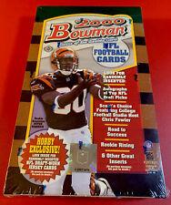 2000 Bowman Football 🏈 Sealed Hobby Box TOM BRADY ROOKIE YEAR Factory Sealed