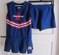 Warriors Pop Warner Little Scholars CranBarry Cheerleading Dress Suit Outfit YM