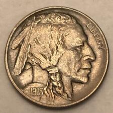 Rare 1913 D Type 2 Buffalo Nickel Key Date AU++ Grade It Free Shipping