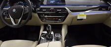 BMW OEM G30 G31 5 Series 2017 + Fineline Ridge Wood Interior Trim Set 4lf NEW