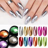 Colorful Nail Glitzer Pulver Spiegel Metal Effect Pigment Dust Nagel Dekors