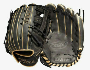 """2022 Wilson A1000 1750 Outfield Glove 12.5"""" WBW100138125 Baseball Right Hand"""