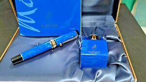 Aurora Fountain Pen Mare  Limited Edition Blue NEW
