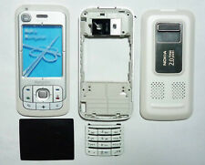 White fascia facia housing cover faceplate for Nokia 6110 Navigator 6110N case