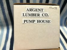 CNC178 O Scale Thomas A Yorke Argent Lumber Co. Pump House 1 of 48 Series