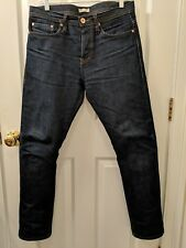 THE UNBRANDED BRAND #UB201 SELVEDGE 14.5 oz.JEANS MEN'S actual 34x30