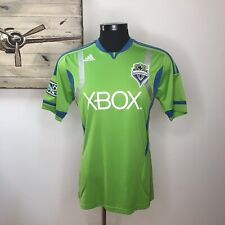Adidas Seattle Sounders FC ClimaCool MLS Soccer Jersey Authentic Mens M