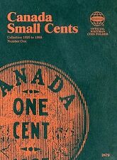 Canada Small Cents Collection 1920 to 1988 Number One by Whitman Publishing