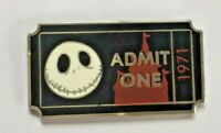 Disney Pin Badge PWP Collection - Admission Ticket - Jack Skellington