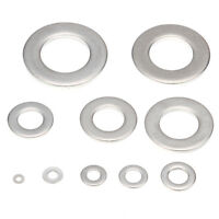 100pcs M4 M6 Stainless Steel Metric flat Washers Screw Repair Kit Tools