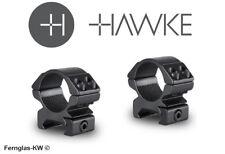 Hawke 22112 25,4mm ringmontage Low for Weaver Rail, zielfernrohr-halterung
