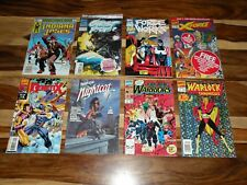 MARVEL #1 LOT ~ X-Force ~ GHOST RIDER ~ WARLOCK ~ Indiana Jones ~ GENETIX ~ MORE