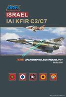 IAI Kfir C2//C7 Exterior EDP48795 - * Eduard Photoetch 1:48 AMK