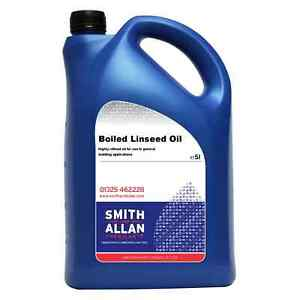 Boiled Linseed Oil Wood Treatment 5 Litre 5L