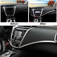 Auto Parts In The Control Trims Strip For Nissan MURANO 2015-2017 Stainless 2PCS