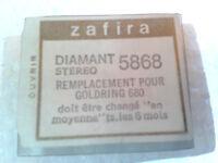 ♫ 5 POINTES DE LECTURE SAPHIR VICTORIA 78 t GRAMOPHONE Ø 1,4 mm  ♫
