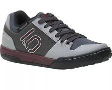 Five Ten Women's Freerider Contact Flat Shoe Maroon/grey Size 10