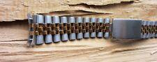 19mm Correa de Pulsera de Jubileo banda Tag Rolex Curvado Extremos sólido vínculo en dos tonos oro *