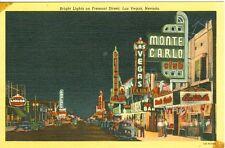 Las Vegas, NV  Monte Carlo, Las Vegas, Pioneer & Boulder Clubs on Fremont Street