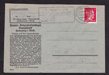 1944 Germany Ravensbruck  Concentration Camp Cover KZ to Prag