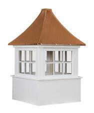 "Cupola 30"" Windows 6 Lite Copper Pagoda Roof"