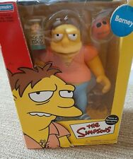 The Simpsons LARGE Barney* Faces Of Springfield Deluxe Figure* USED