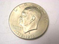 1976-D Eisenhower one Dollar Bi-Centenial circulated clad coin