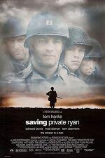 Saving Private Ryan Tom Hanks Spielberg Original Single Sided 27x40 Movie Poster