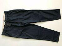 NWT Tommy Hilfiger Men's Dark Blue Navy Cotton Casual Pants Drawstring Waistband